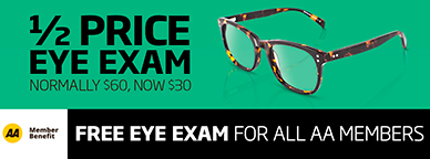 Half Price Eye Exam